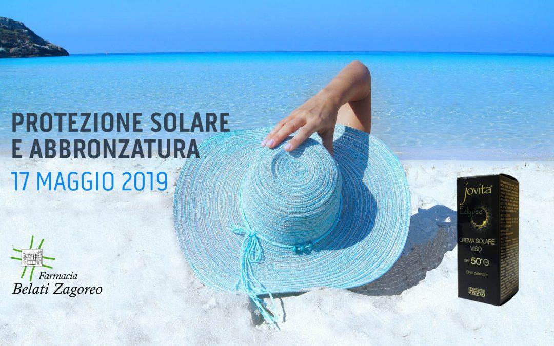 Jovita Day, protezione solare e abbronzatura