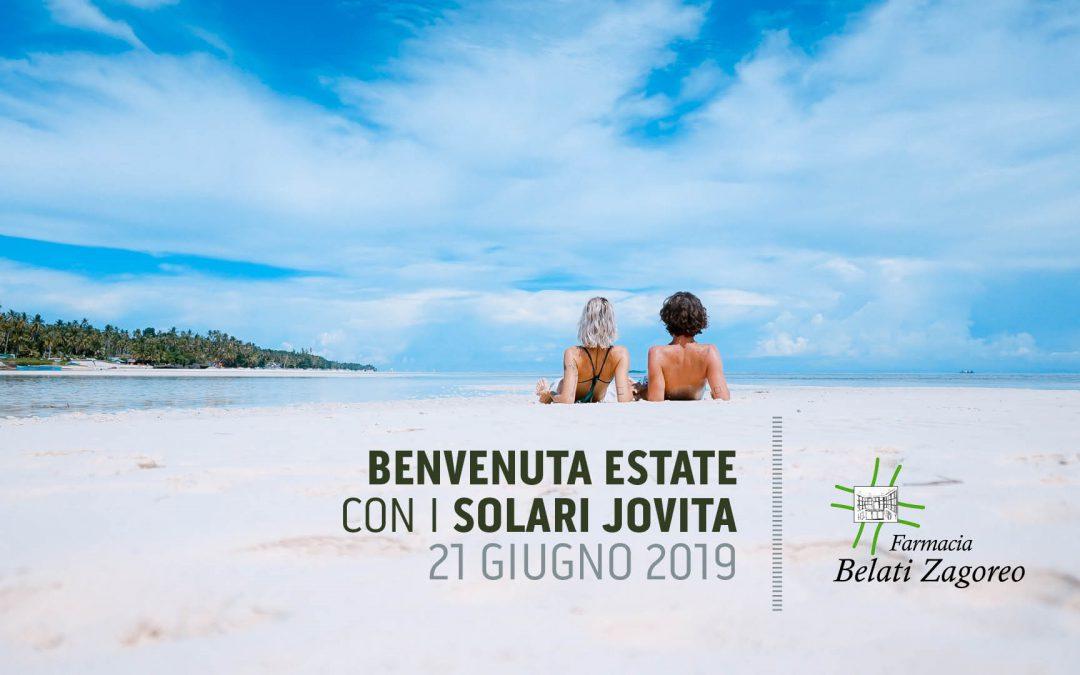 Benvenuta estate con i solari Jovita