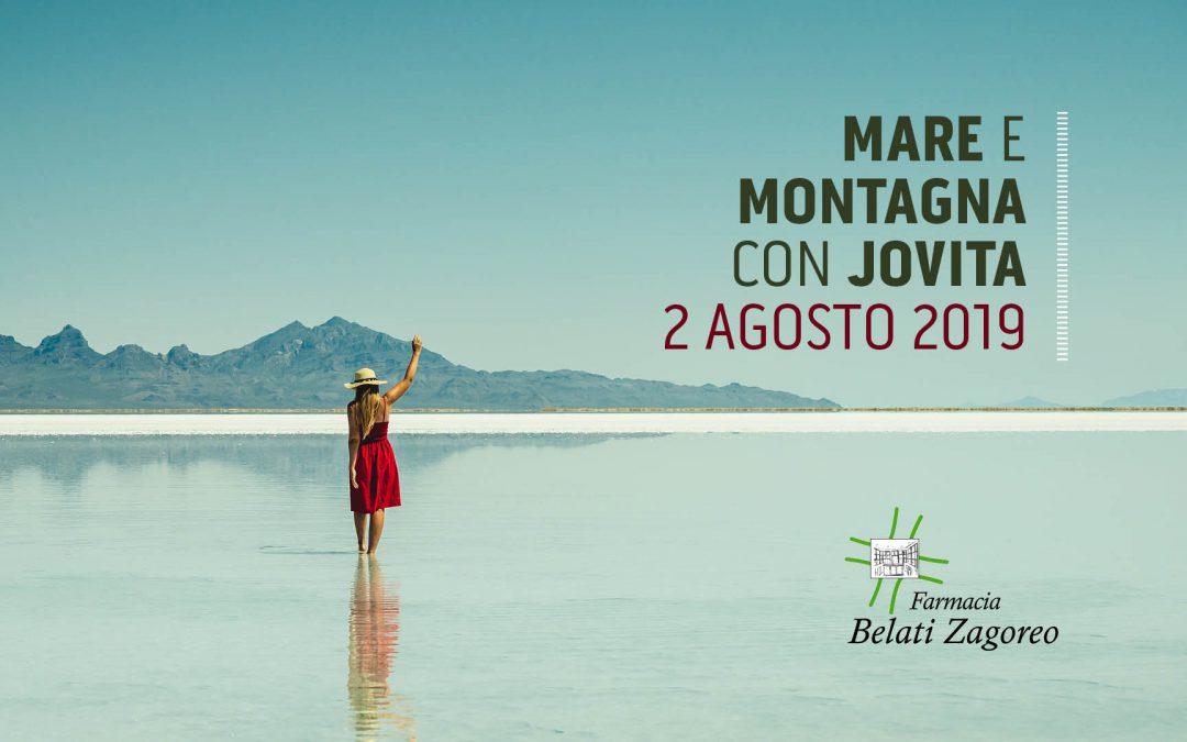 Mare e montagna con Jovita – 2 Agosto 2019