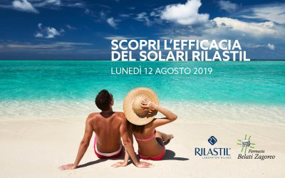 Promozione solari Rilastil – 12 Agosto 2019