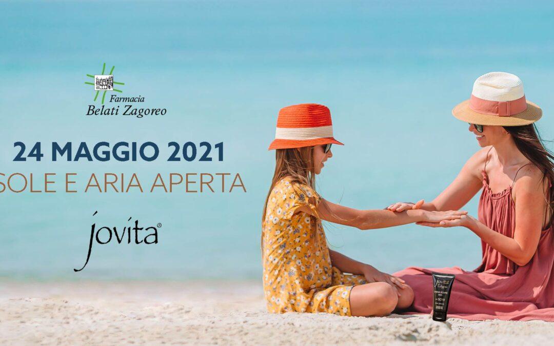Open Day Jovita – 24 Maggio 2021