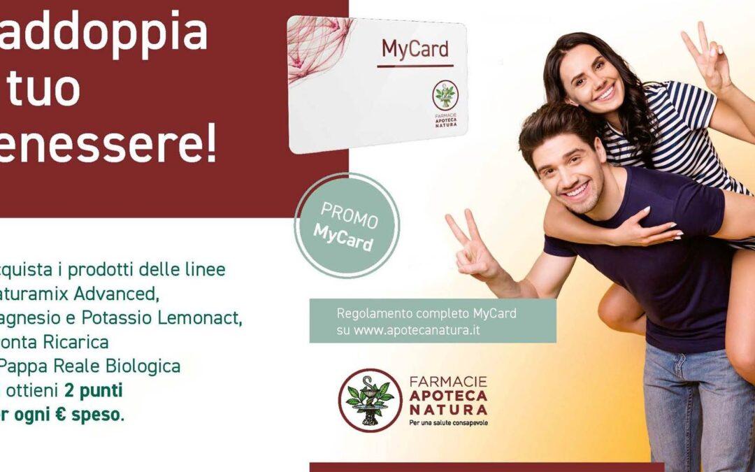 Promozione Aboca MyCard Raddoppia il tuo benessere