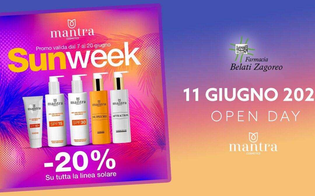 Open Day Mantra Cosmetics – 11 Giugno 2021