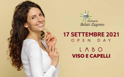Open Day Labo 17 Settembre 2021